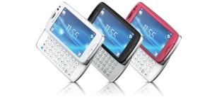 Sony Ericsson Txt Pro: Touchscreen Handy mit QWERTZ-Tastatur